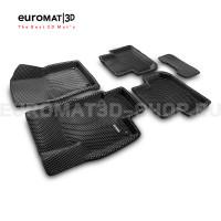 3D коврики Euromat3D EVA в салон для Volkswagen Tiguan (2017-) (Укороченная) № EM3DEVA-005415.1
