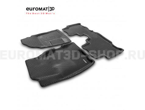 3D коврики Euromat3D EVA в салон для Chevrolet Captiva (2006-2016) № EM3DEVA-001503